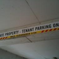 construction signs sydney